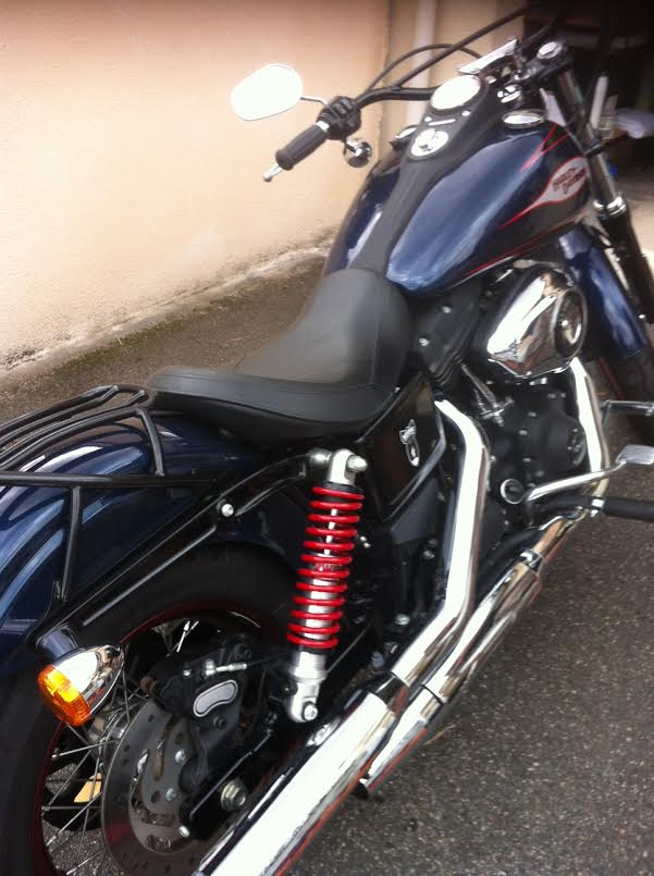 Harley et les amortisseurs… une histoire pas toujours d'amour !