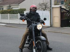 Test essai Harley-Davidson Fatboy S