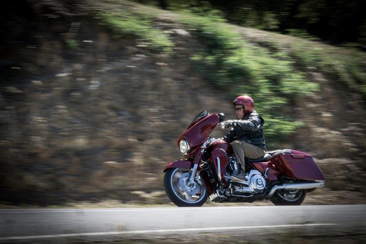 De Paris à Grimaud en Harley-Davidson Street Glide Cvo