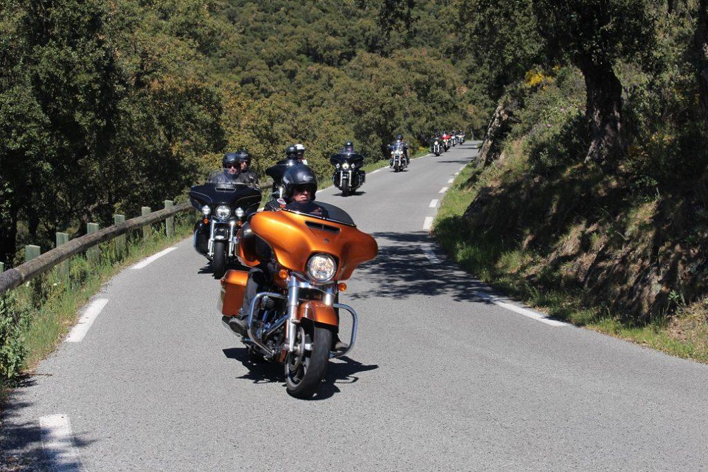 De Paris à Grimaud pour le rassemblement Harley