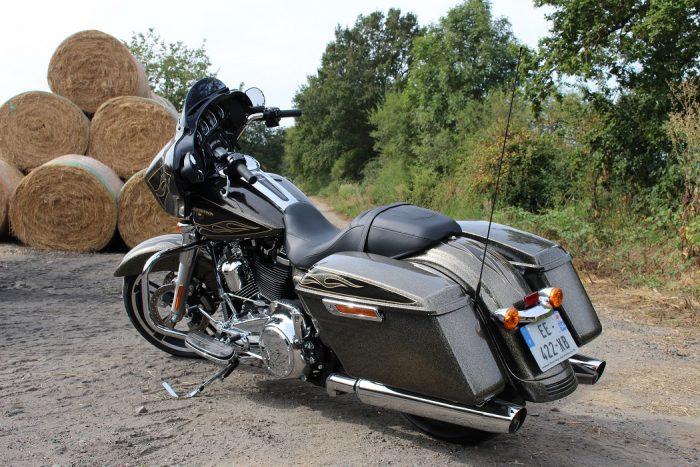 Premier essai Harley Street Glide 107 et Low rider S