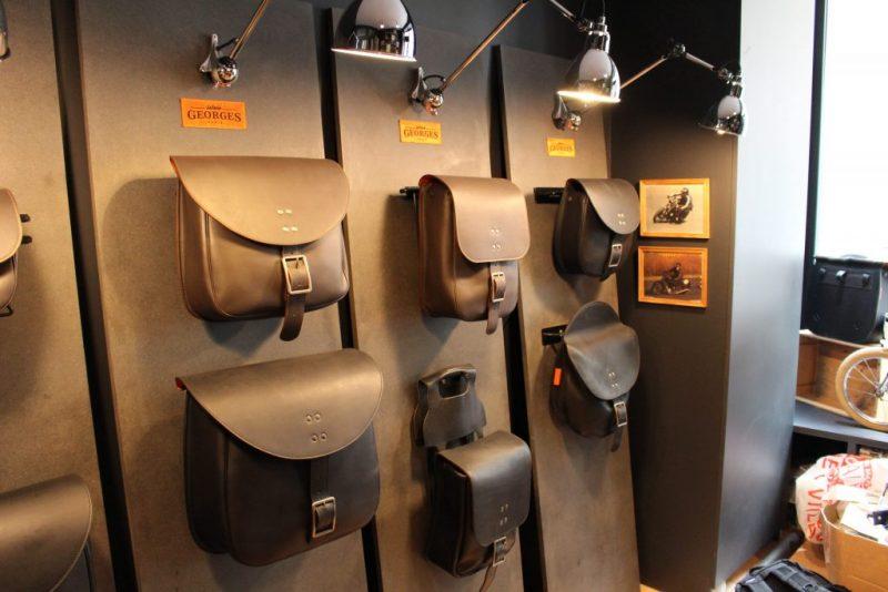 La gamme des sacoches sellerie Georges