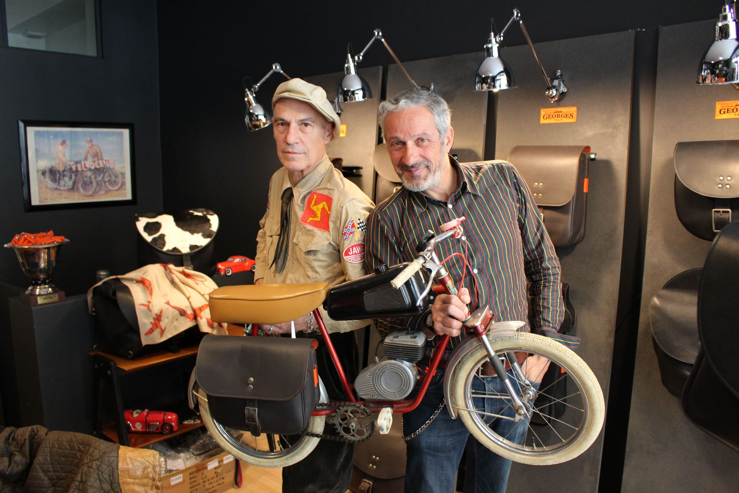 Sellerie Georges : des sacoches pour habiller votre Harley