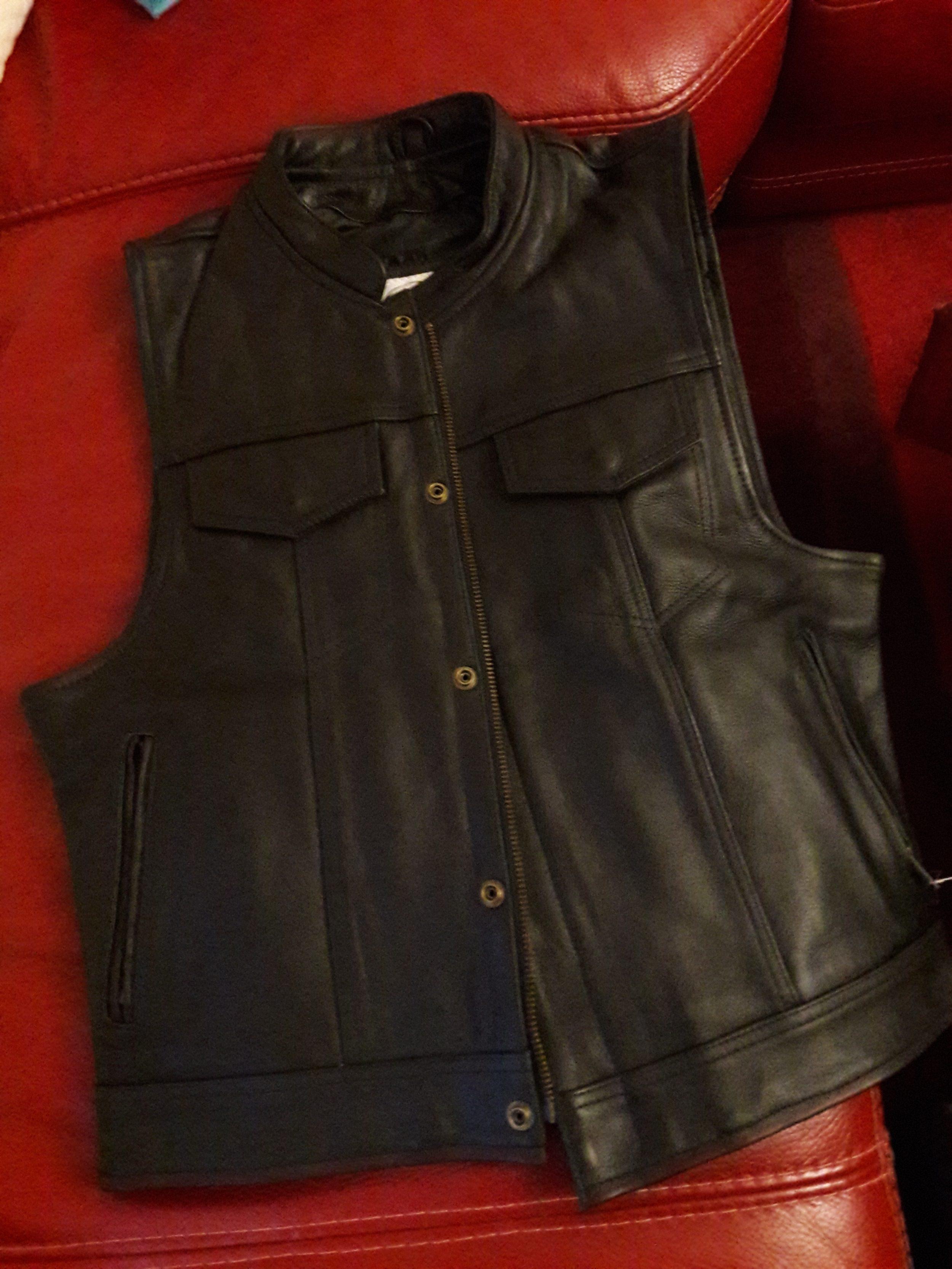 Le CUT ou gilet de cuir : l'accessoire indispensable du vrai biker !