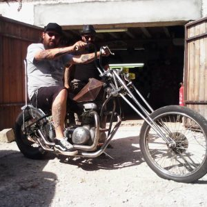 Chopper BSA de Mika