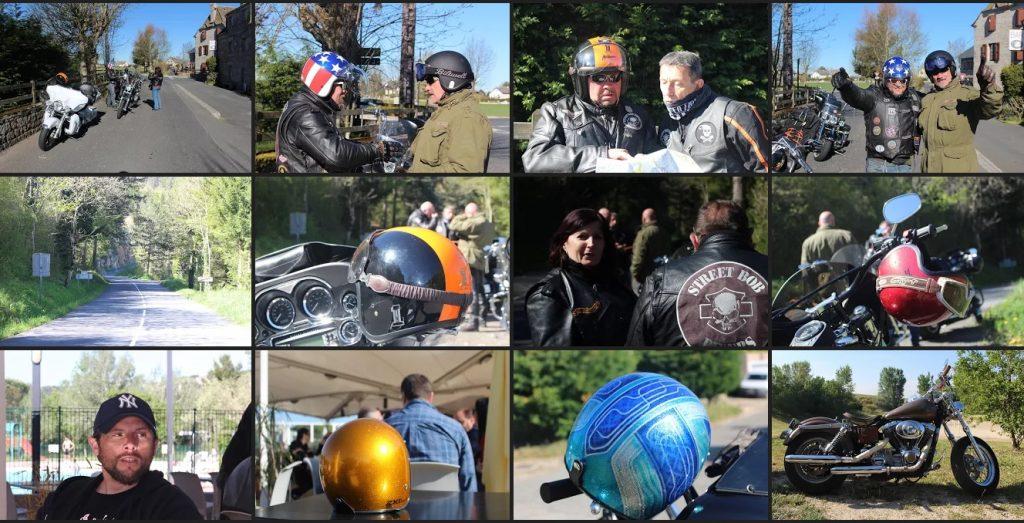 Photos de Harley-Davidson et de bikers Rétrospective 2016 et des souvenirs de bikers
