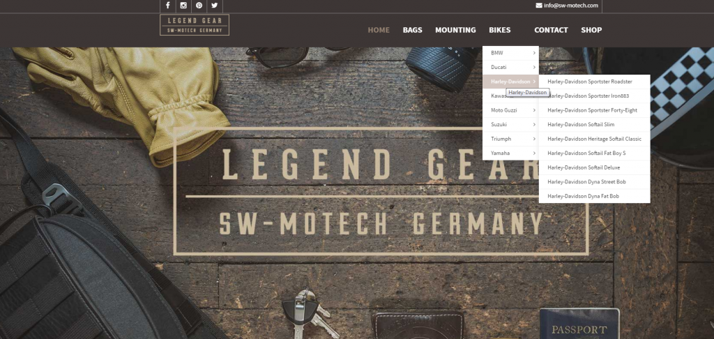 sacoche Legend Gear - Site web de Legend Gear