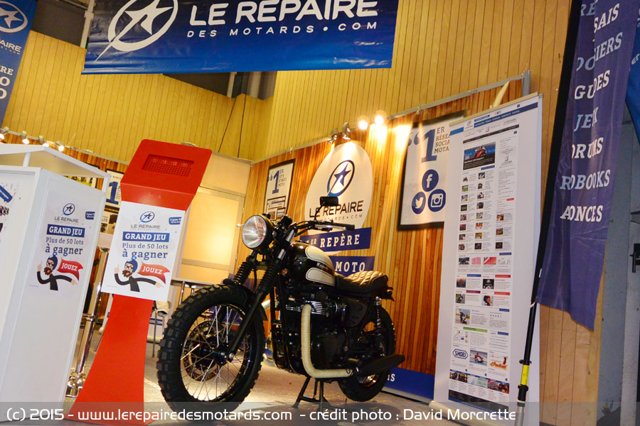 Un repaire de motards bien sympa , Interview de David Mocrette