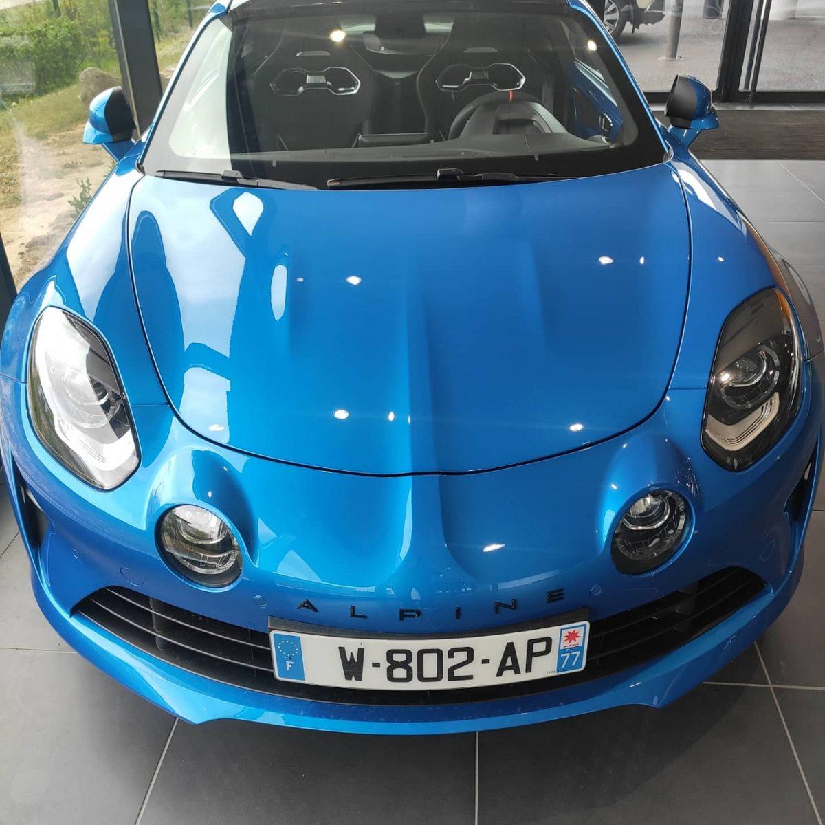 Alpine A110 , le bijou de chez Renault sport !